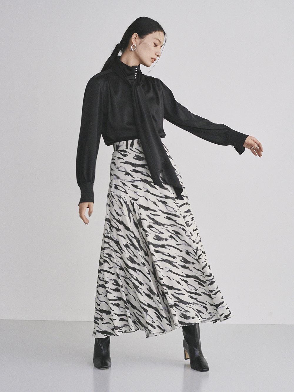 サイドフレアースカート(BEG-0)