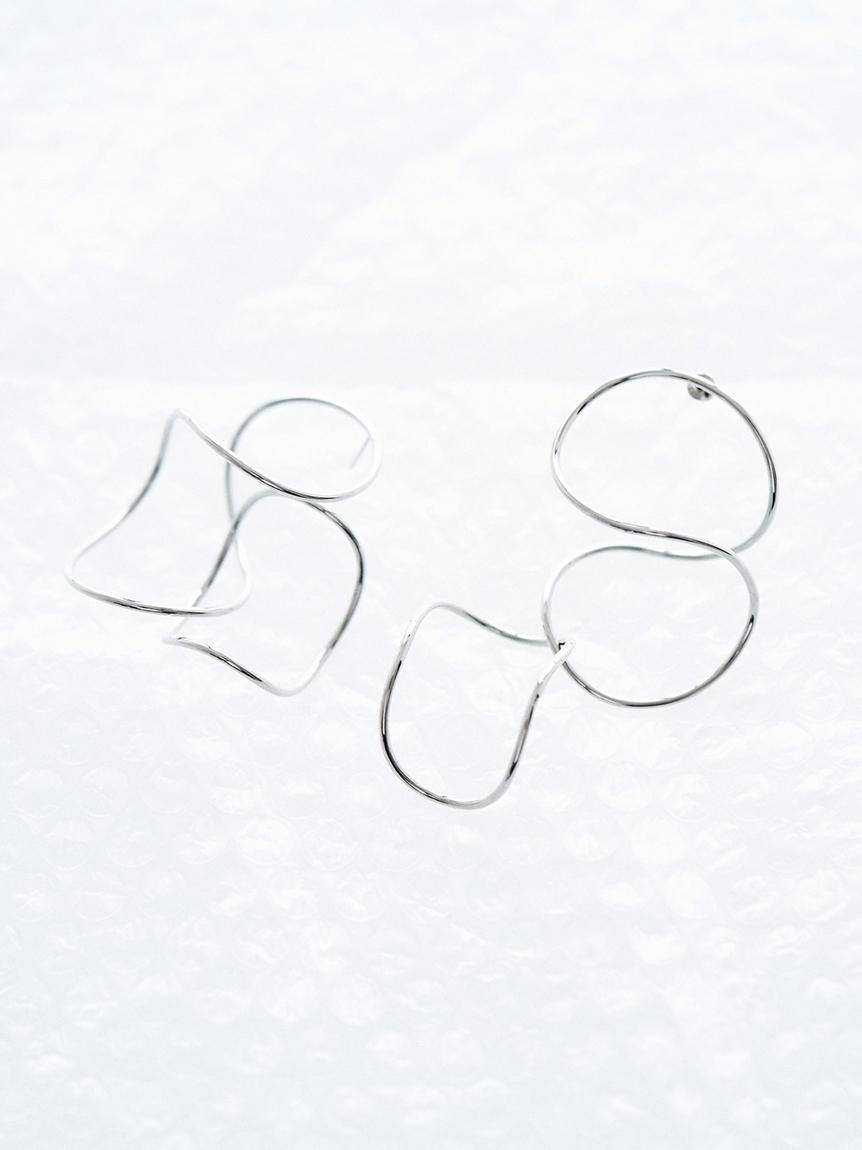 ワンストロークピアス(SLV-F)