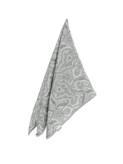 総柄スカーフ(GRY-F)