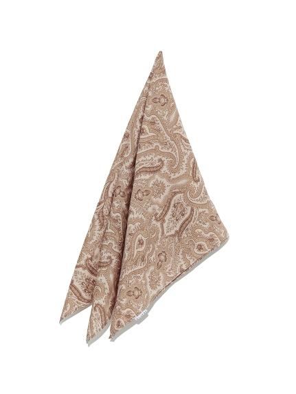 総柄スカーフ(BEG-F)