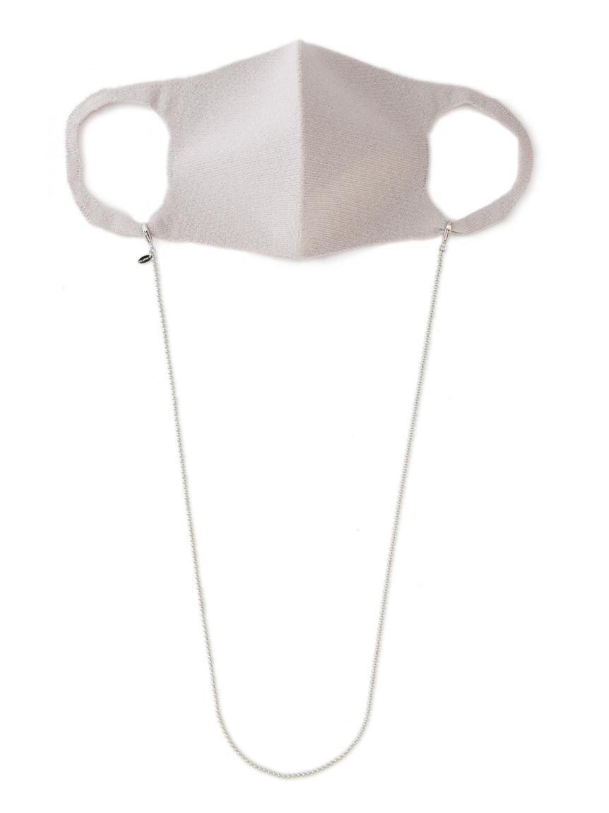 チェーン付きニットマスク(LGRY-F)