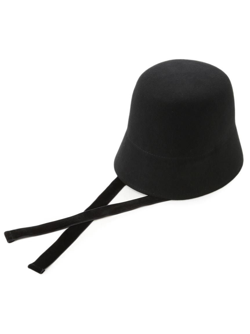 ウール帽体ハット(BLK-F)