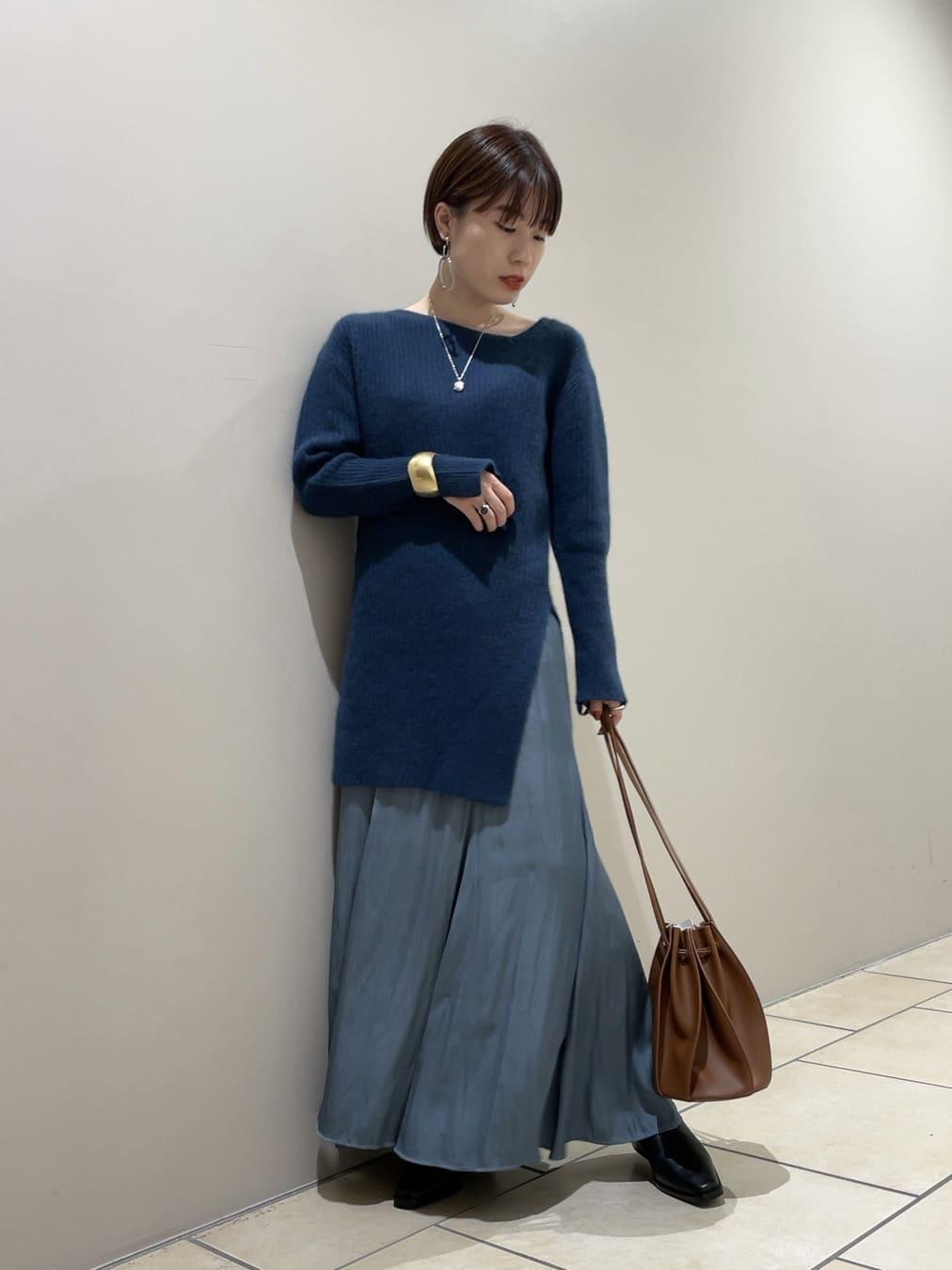 アシメプルオーバースカートセットアップ(BLU-F)