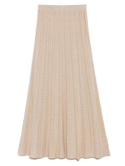 アイレットニットスカート