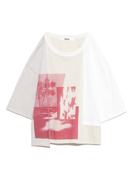 プリントTシャツ(WHT-F)
