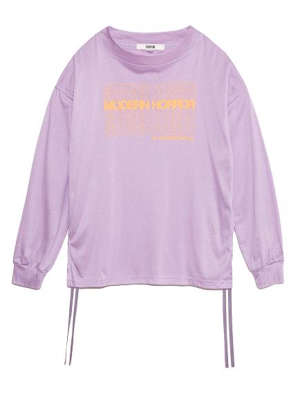 ロゴプリント長袖Tシャツ(PPL-F)