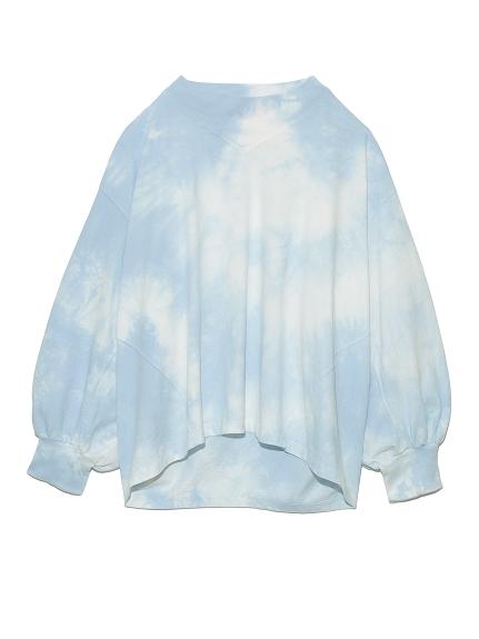 タイダイビッグTシャツ(BLU-F)