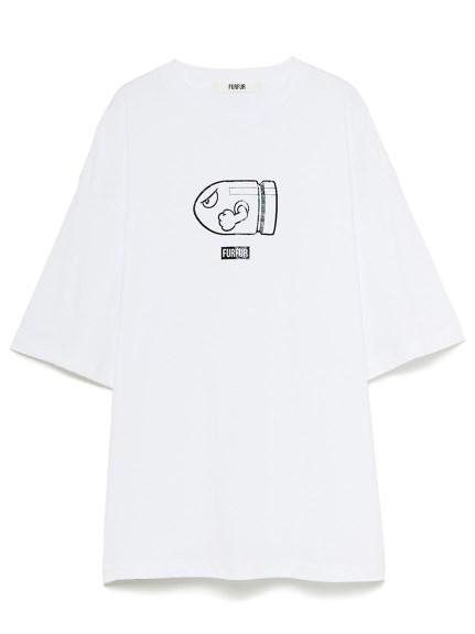 【スーパーマリオ 限定商品】ユニセックスTシャツ(WHT-F)