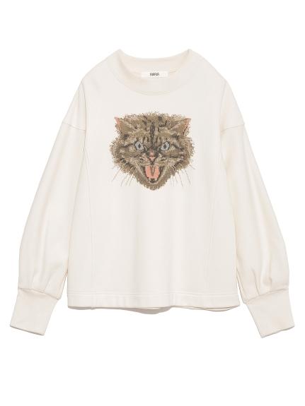 猫スウェット(IVR-F)