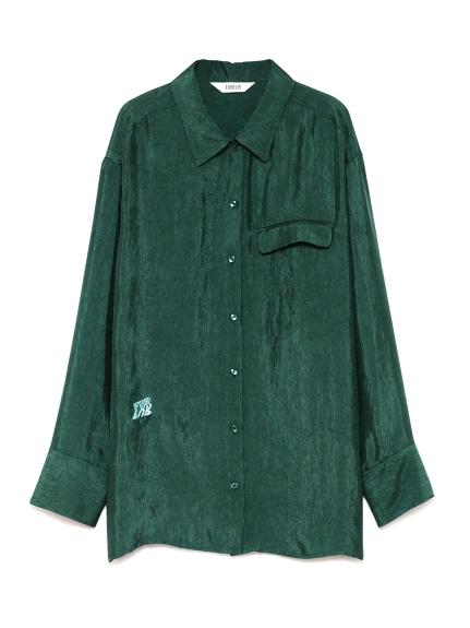 Tatooロゴカラーシャツ(GRN-F)