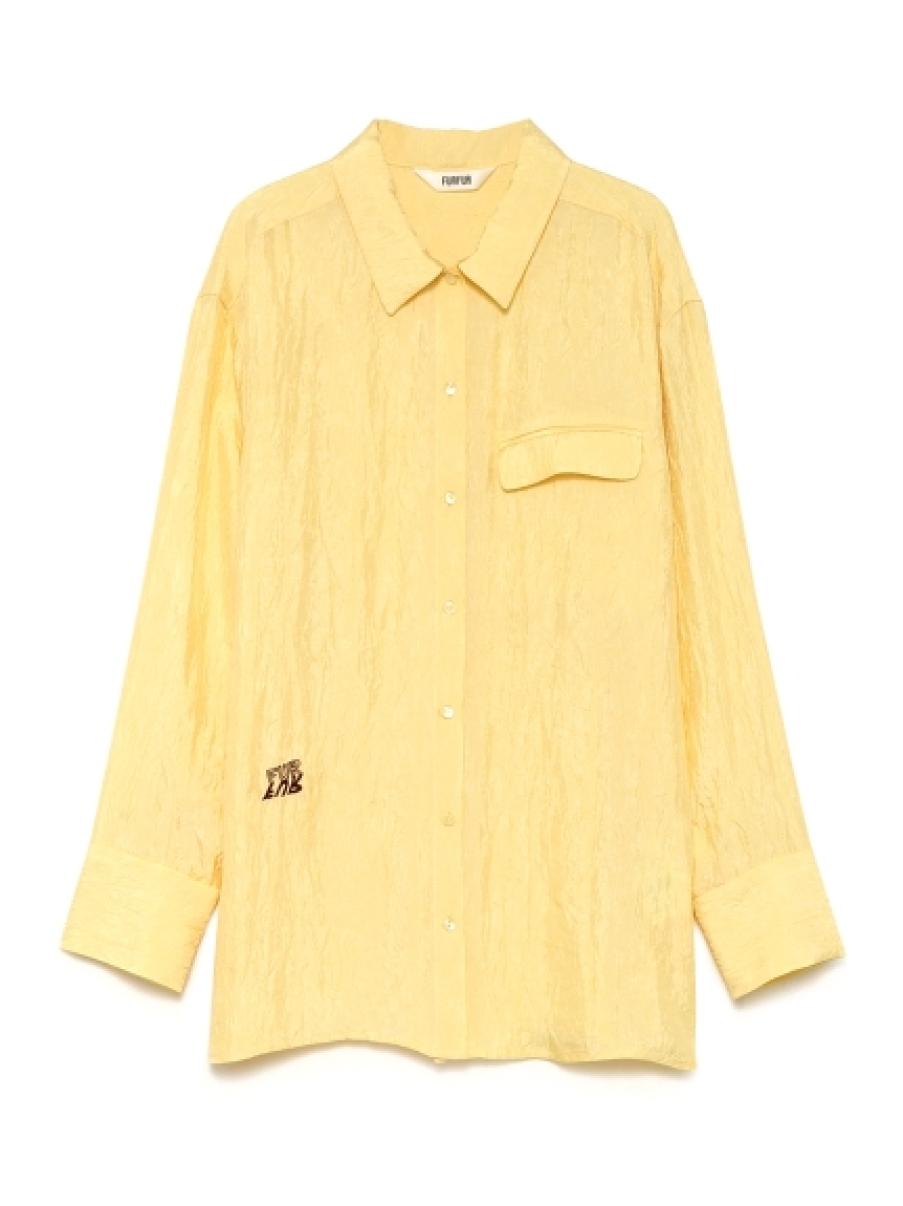 Tatooロゴカラーシャツ(YEL-F)