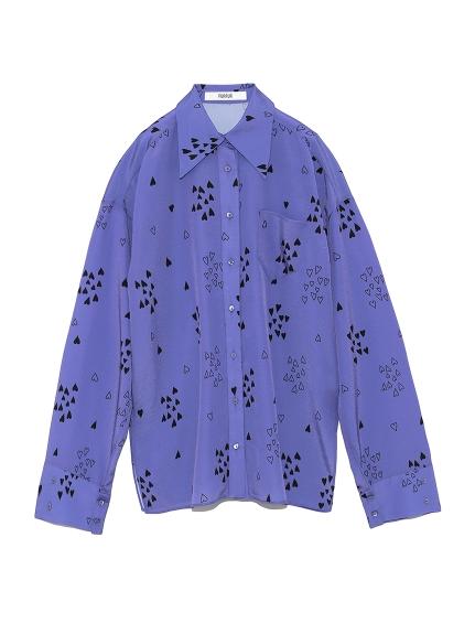 ハートプリントシャツ(PPL-F)
