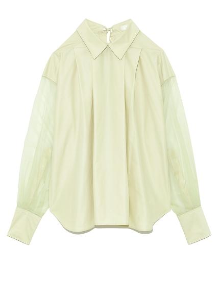 ストライプシャツ(YEL-F)