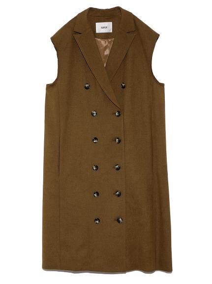 ノースリーブジャケットドレス(BRW-F)