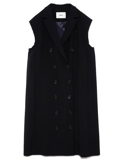 ノースリーブジャケットドレス(NVY-F)