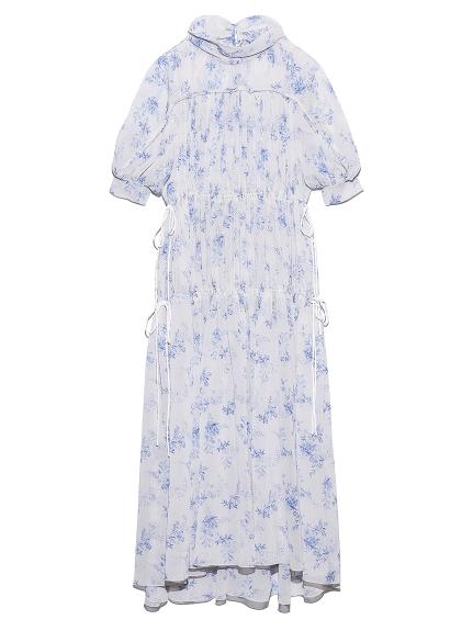 ギャザードドレス(WHT-F)