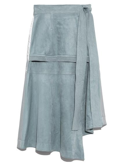 フェイク切り替えスカート