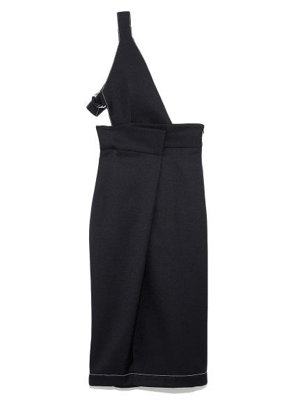 ワンショルダースカート