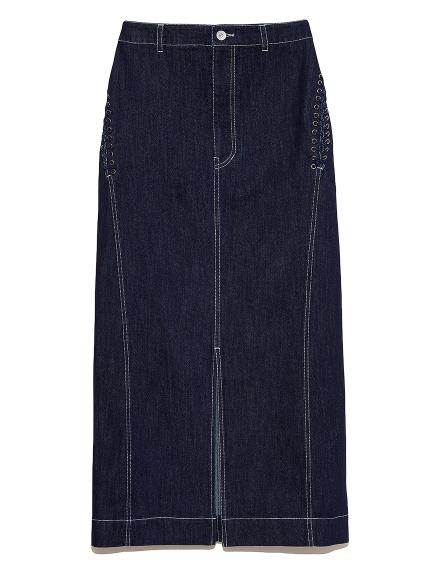 サイドレースアップタイトスカート(IND-F)