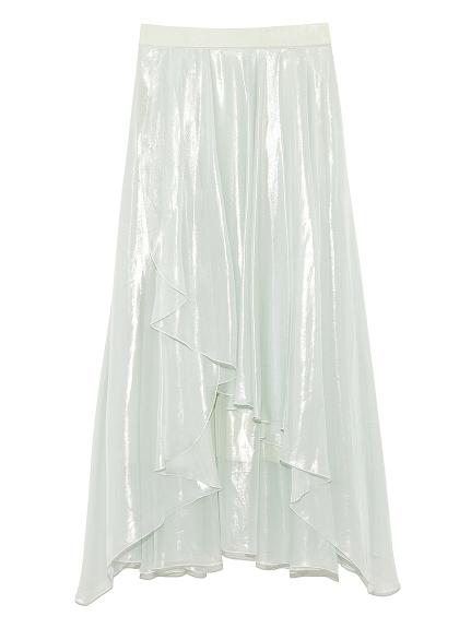 シースルーラップスカート