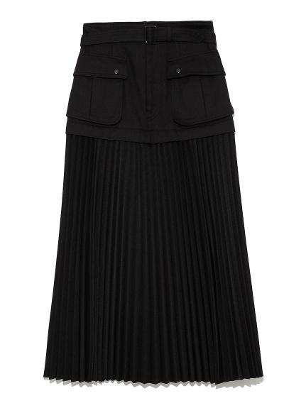 ジャンプジャケットスカート(BLK-F)