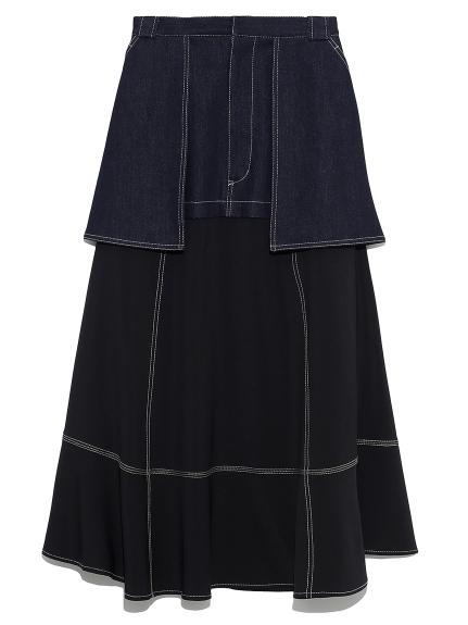 ミリタリーリメイクスカート