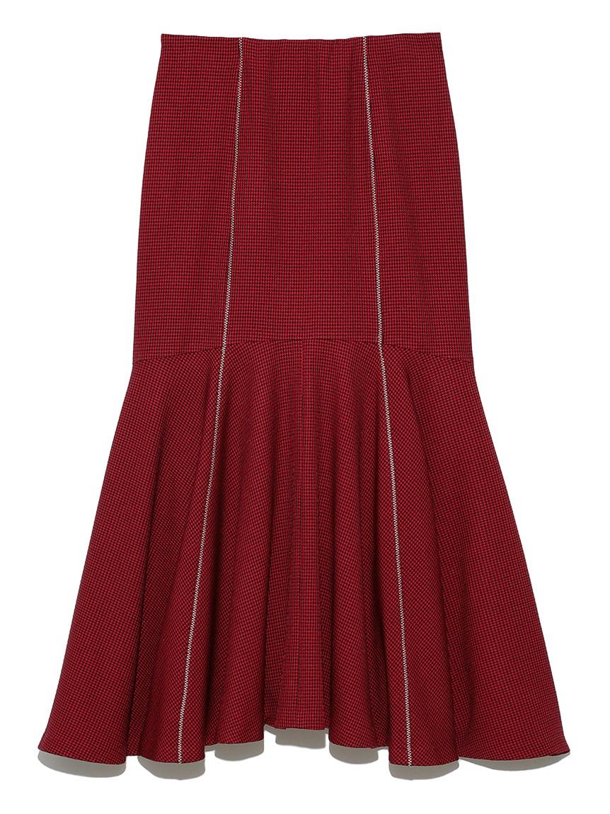 マーメイドロングスカート(RED-F)