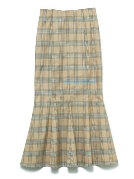 マーメードスカート(CHECK-F)