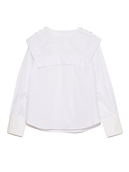 セーラーカラーシャツ(OWHT-F)
