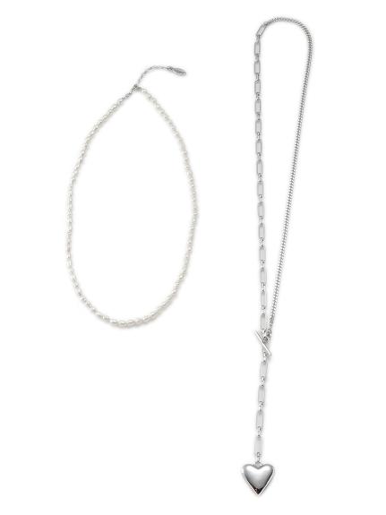 レイヤードネックレスセット(SLV-F)