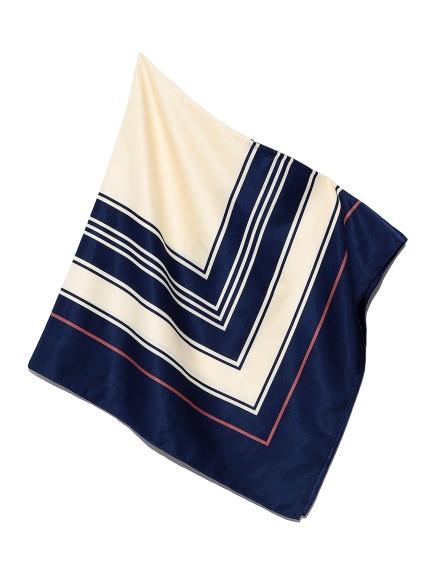 ジオメトリースカーフ(BLU-F)