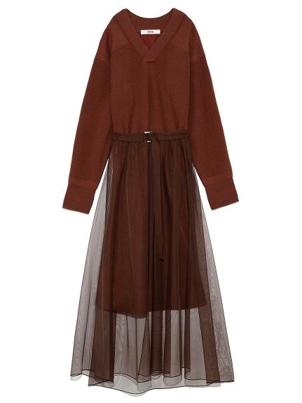 チュールスカート付きコマンドドレス
