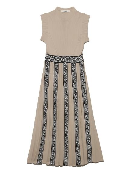 チロリアンニットドレス