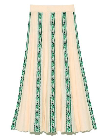 幾何フェアアイルスカート(IVR-F)