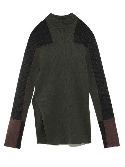 パッチワークセーター(KKI-F)