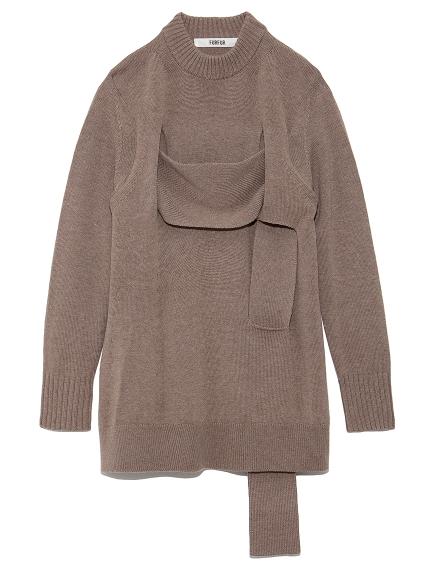 ランダムデザインセーター(BEG-F)