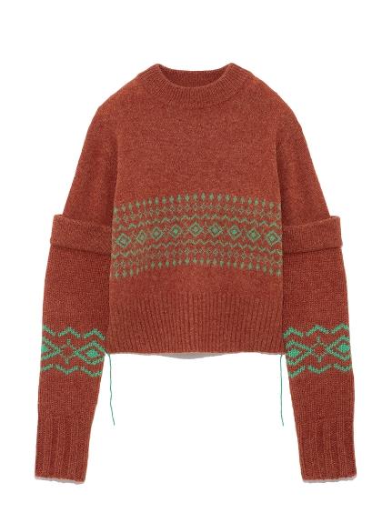 ビッグスリーブセーター