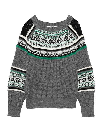 スノージャガードセーター