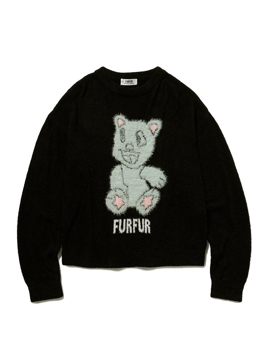 【FURFUR×gelato pique】スムーズィーナイト☆ティアプルオーバー(BLK-F)