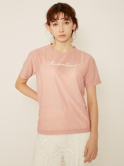 プリント入りシアーTシャツ | RWCT211091