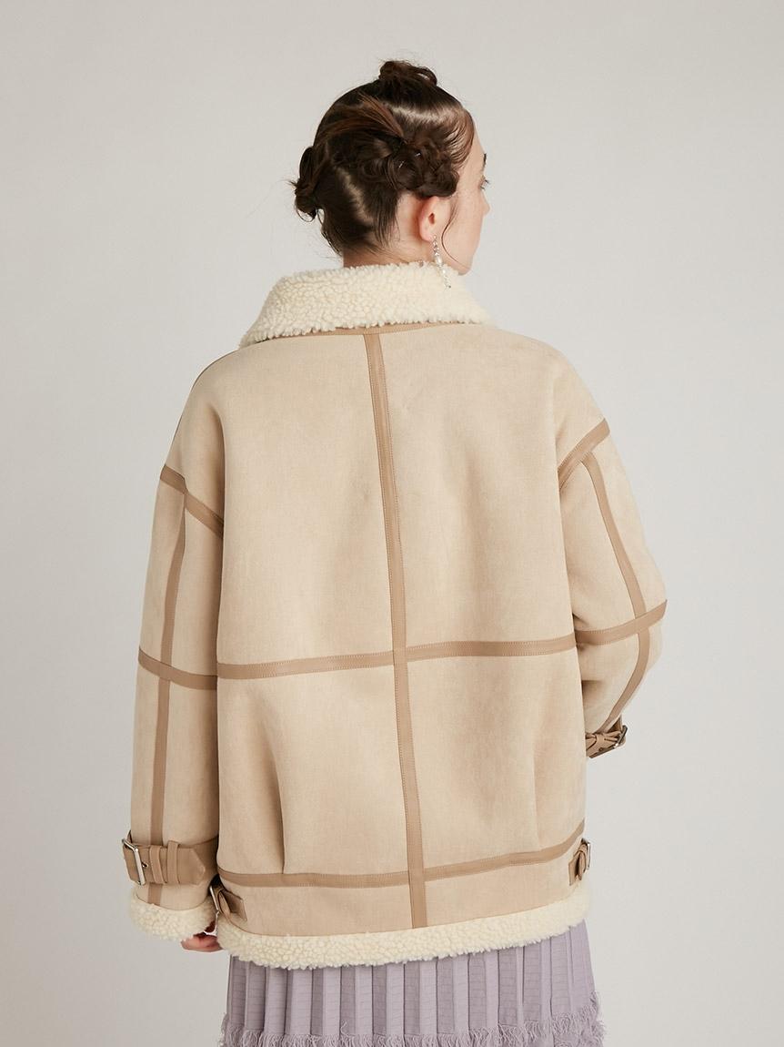 エコレザーボンバージャケット | RWFJ215001