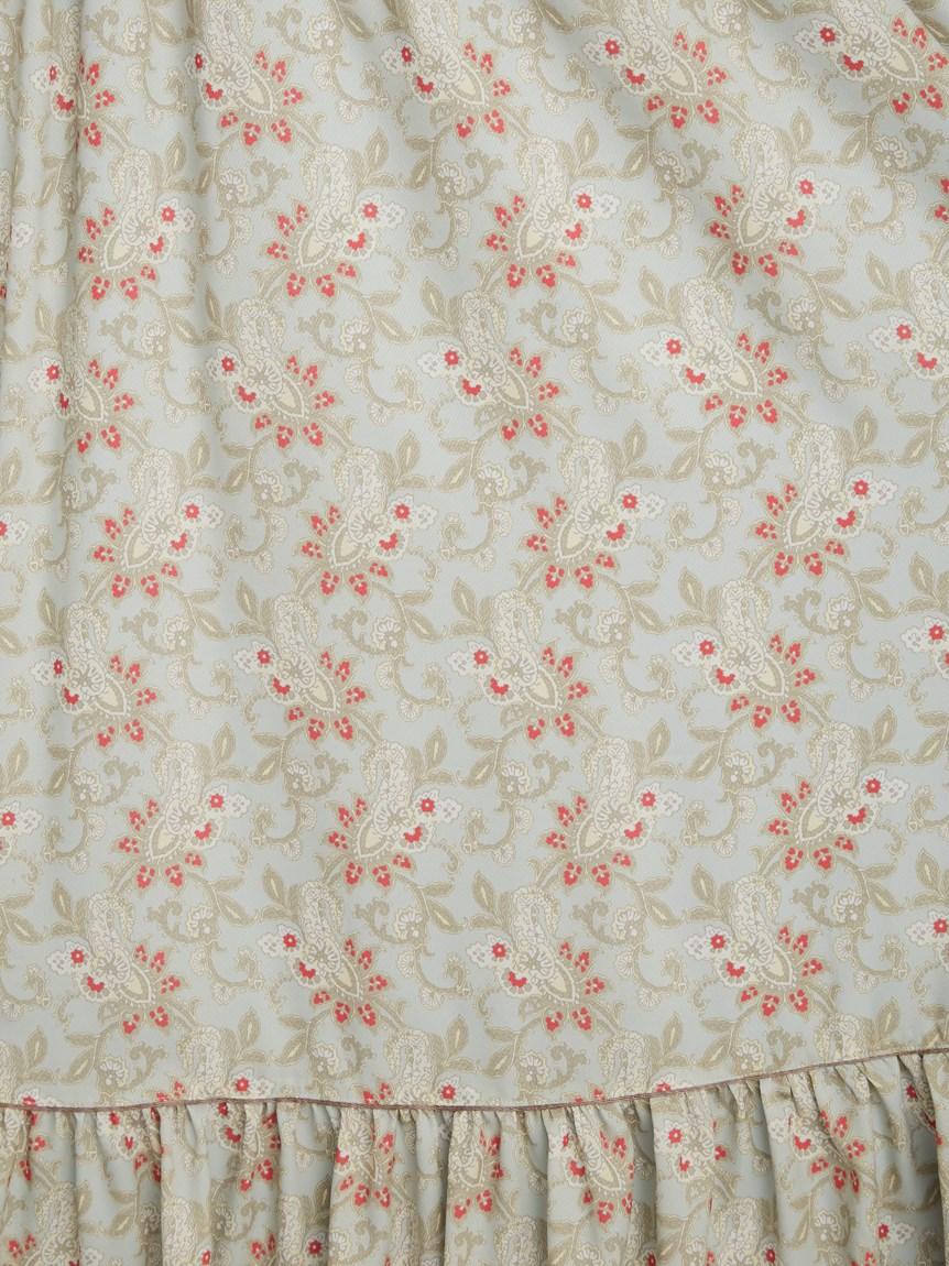 カラーペイズリースモックドレス   RWFO214064