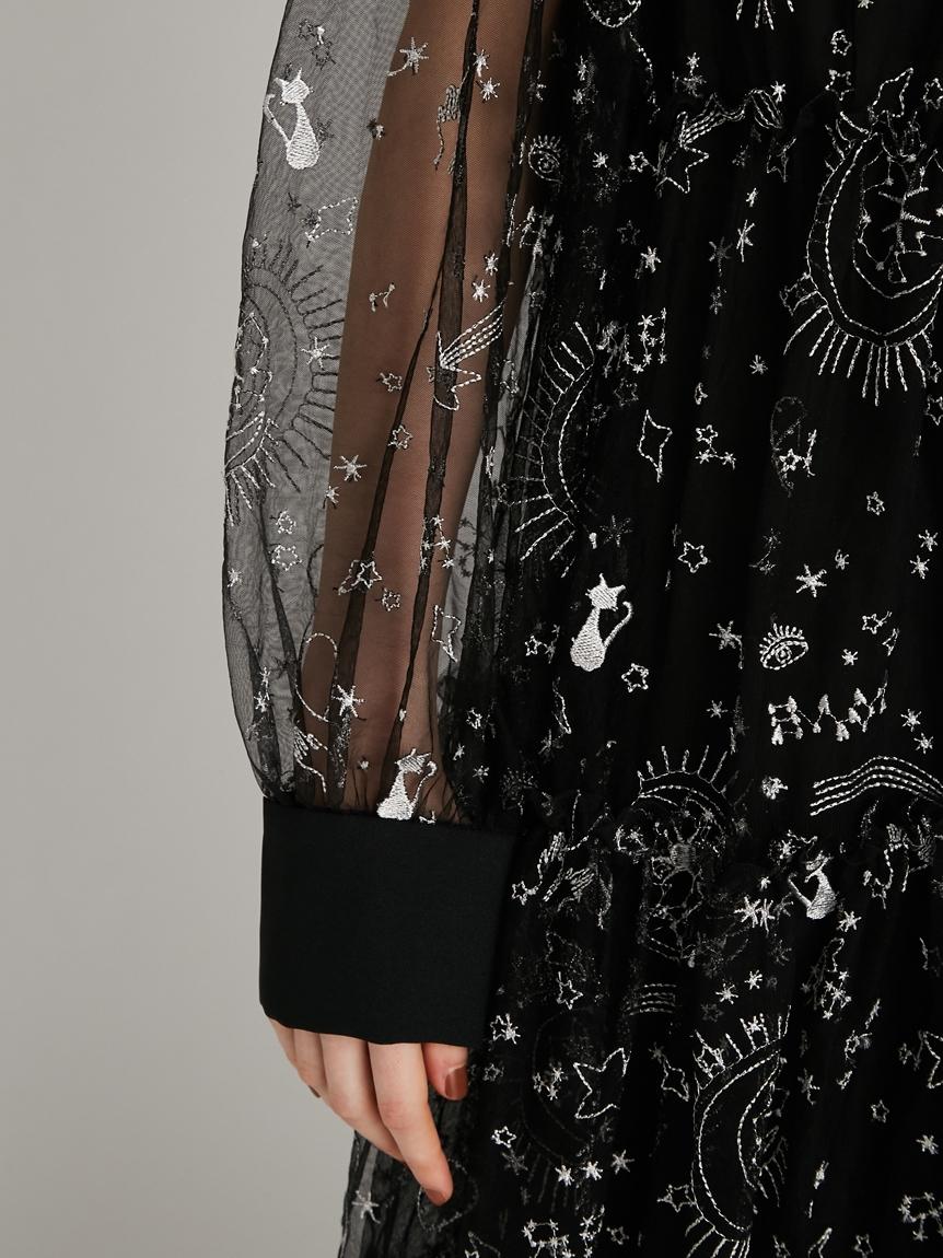 タロットモチーフ刺繍ドレス | RWFO214073