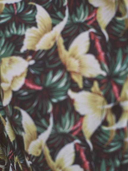 アロハ柄ナロースカート | RWFS212007