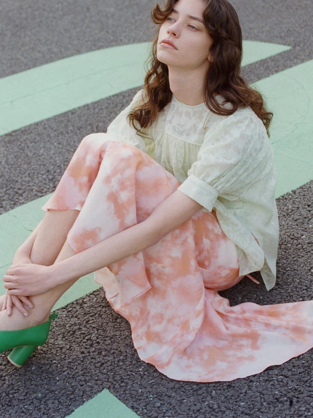 タイダイ風プリントスカート | RWFS212012