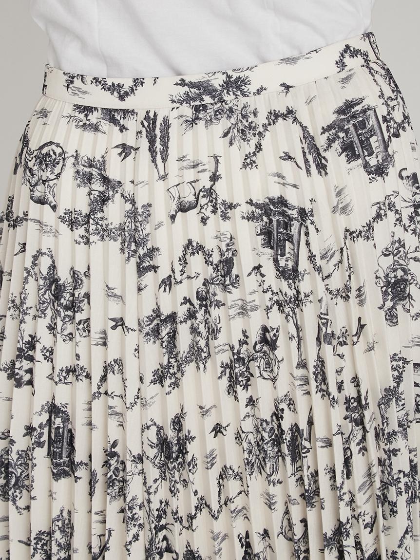 トワルドジュイプリーツスカート | RWFS214027