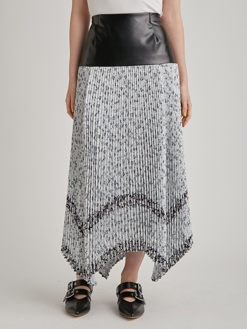 リトルフラワープリーツスカート | RWFS215018