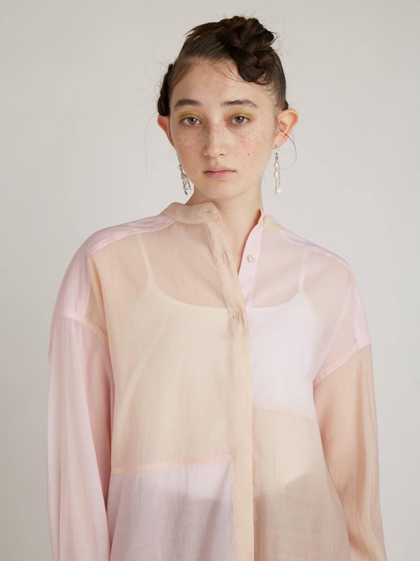 ミックスバンドカラーシャツ   RWFT214043