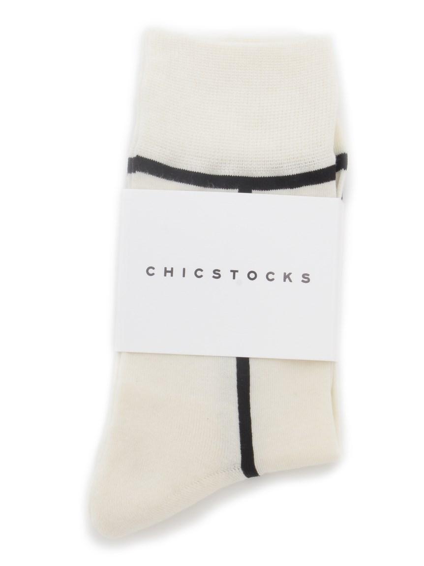 【CHICSTOCKS】ソックス   RWGG212518