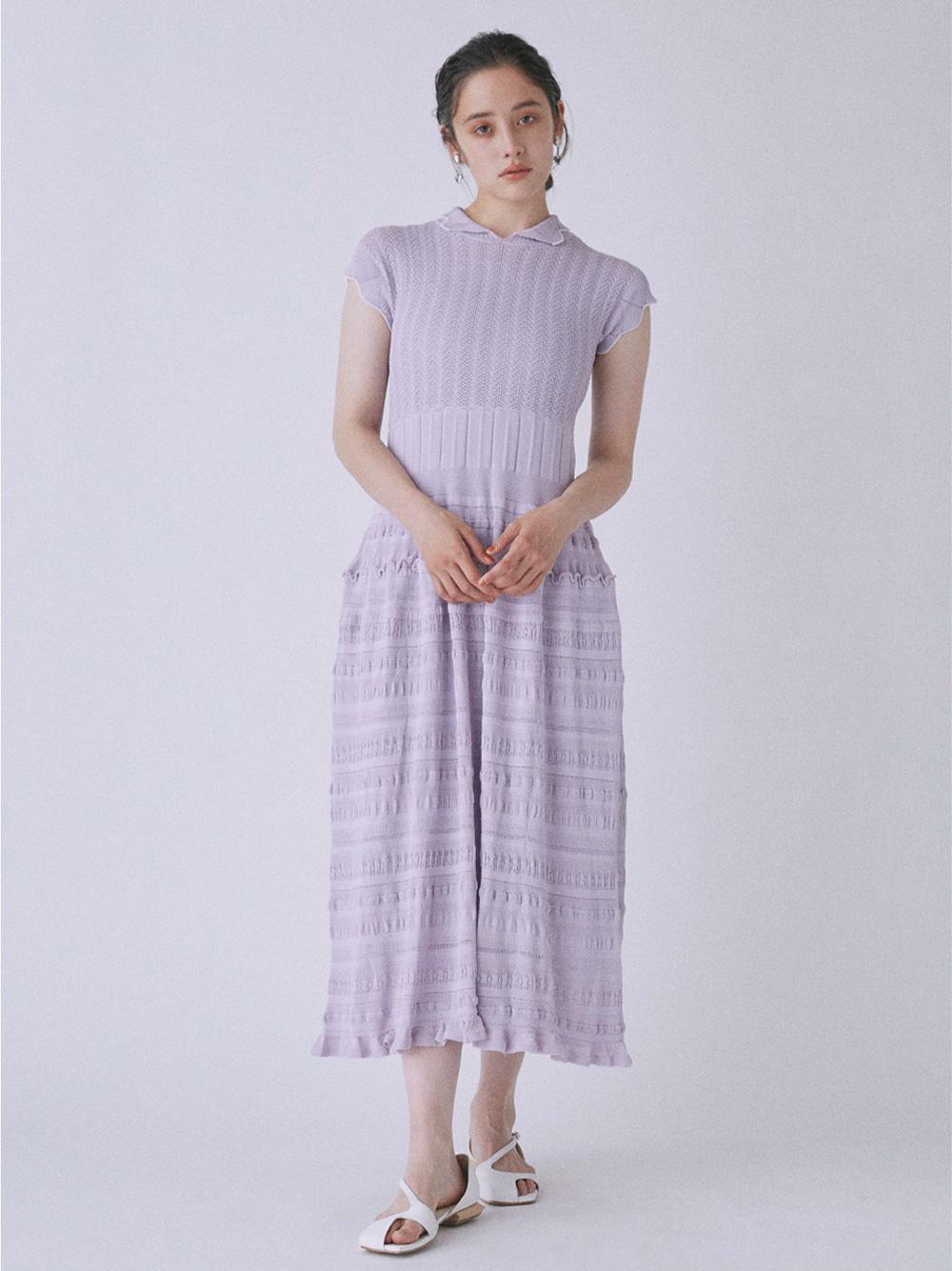 レーシーニットドレス | RWNO212061